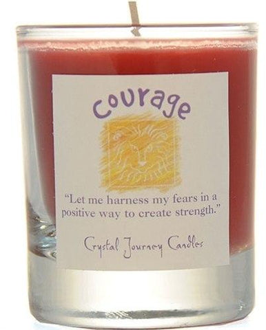 Courage Herbal Magic Filled Votive Holders
