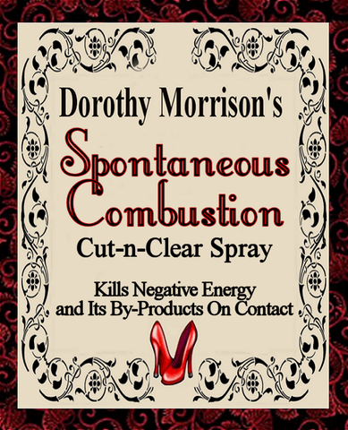Dorothy Morrison's Special Edition Spontaneous Combustion Cut-N-Clear  Spray