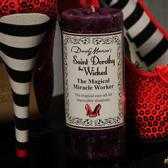 Dorothy Morrison's Limited Edition St. Dorothy the Wicked Candle