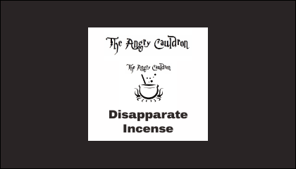 The Angry Cauldron Disapparate Incense