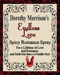 Dorothy Morrison's Special Edition Endless Love  Spicy Romance Spray
