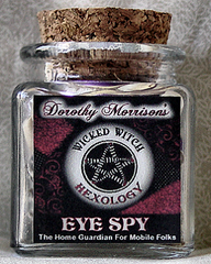 Dorothy Morrison's Eye Spy Hexology Jar