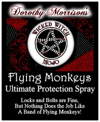 Dorothy Morrison's Wicked Witch Mojo Flying Monkeys Spray
