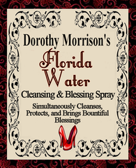 Dorothy Morrison's Special Edition Florida Water Spray