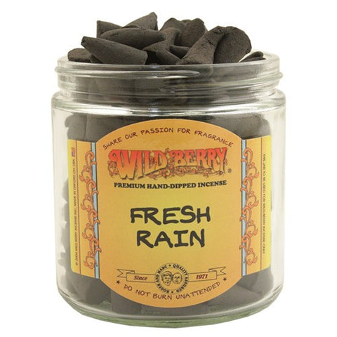 Wild Berry Fresh Rain Cone Incense