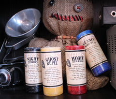 Ghost and Halloween Candles