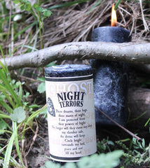 Night Terrors Ghost Candle