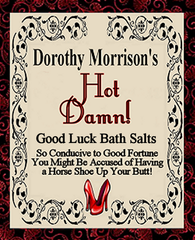 Dorothy Morrison's Hot Damn! Bath Salts