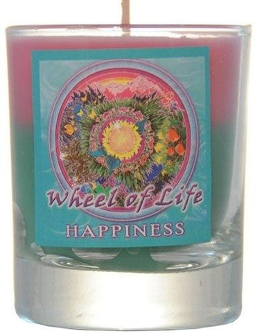 Happiness Mandala Filled Votive Holders