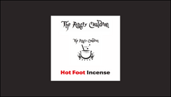 The Angry Cauldron Hot Foot Incense