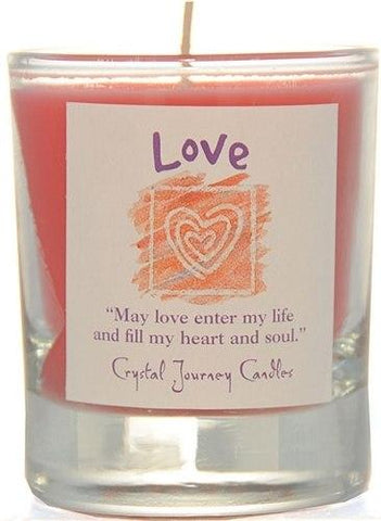 Love Herbal Magic Filled Votive Holders