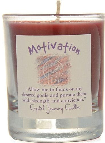 Motivation Herbal Magic Filled Votive Holders