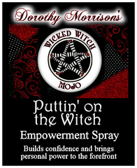 Dorothy Morrison's Wicked Witch Mojo Puttin' On The Witch Spray