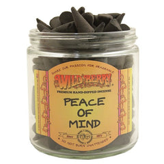 Wild Berry Peace of Mind Cone Incense