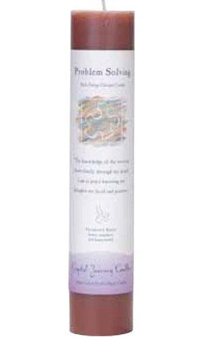 "Problem Solving 1.5"" x 7"" Herbal Magic Pillar"