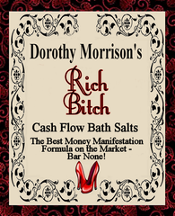 Dorothy Morrison's Rich Bitch Bath Salts