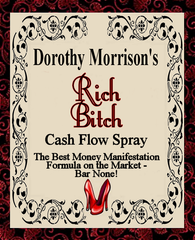 Dorothy Morrison's Rich Bitch Cash Flow Spray