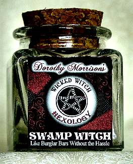 Dorothy Morrison's Swamp Witch Hexology Jar
