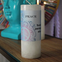 Limited Edition Peace World Magic Candle