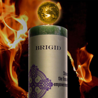 Limited Edition Brigid World Magic Candle