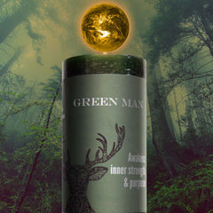 Limited Edition Green Man World Magic Candle