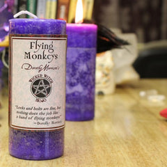 Dorothy Morrison's Wicked Witch Mojo Flying Monkeys Candle