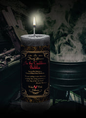 Dorothy Morrison's Limited Edition As the Cauldron Bubbles Candle