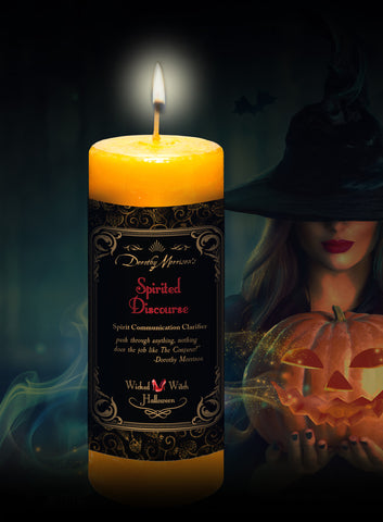 Dorothy Morrison's Limited Edition Spirited Discourse Candle