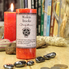Dorothy Morrison's Wicked Witch Mojo Makin' Tracks Candle