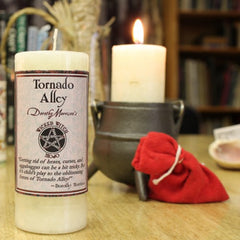 Dorothy Morrison's Wicked Witch Mojo Tornado Alley Candle