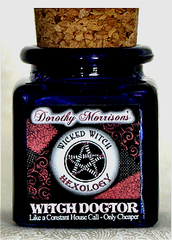 Dorothy Morrison's Witch Doctor Hexology Jar