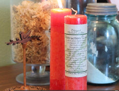 Attraction/Love Blessed Herbal Candle