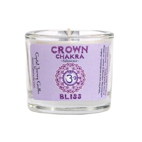 Crown Chakra Soy Filled Votive Holder