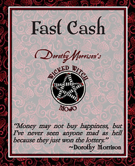 Dorothy Morrison's Wicked Witch Mojo Fast Cash Incense