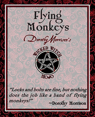Dorothy Morrison's Wicked Witch Mojo Flying Monkeys Incense