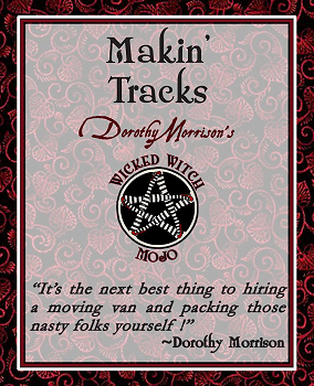 Dorothy Morrison's Wicked Witch Mojo Makin' Tracks Incense