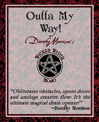 Dorothy Morrison's Wicked Witch Mojo Outta My Way Incense