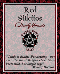 Dorothy Morrison's Wicked Witch Mojo Red Stilettos Incense