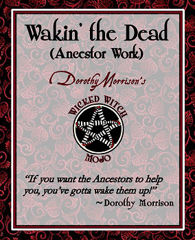 Dorothy Morrison's Wicked Witch Mojo Wakin' The Dead Oil