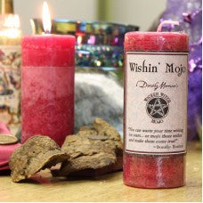 Dorothy Morrison's Wicked Witch Mojo Wishin' Mojo Candle