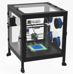 3D Printer Enclosure and Filtration Systems