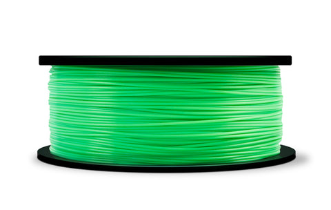 MakerBot Translucent Green PLA Filament