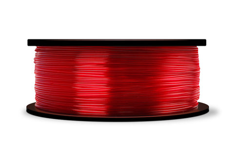 MakerBot Translucent Red PLA Filament