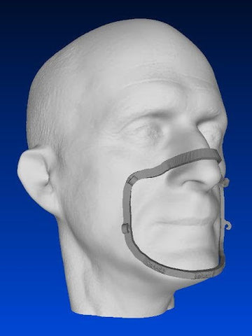 3D Printed Face Mask Fitter