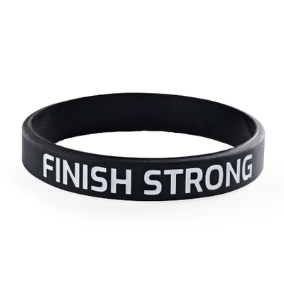 Finish Strong Youth Wristbands (Pkg/10) - SW Inspire | Inspire Kindness | The Dash Poem