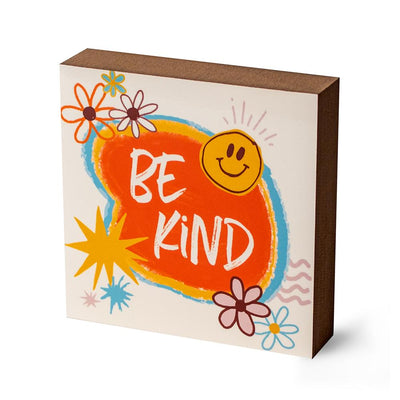 Be Kind Decorative Block - SW Inspire | Inspire Kindness | The Dash Poem