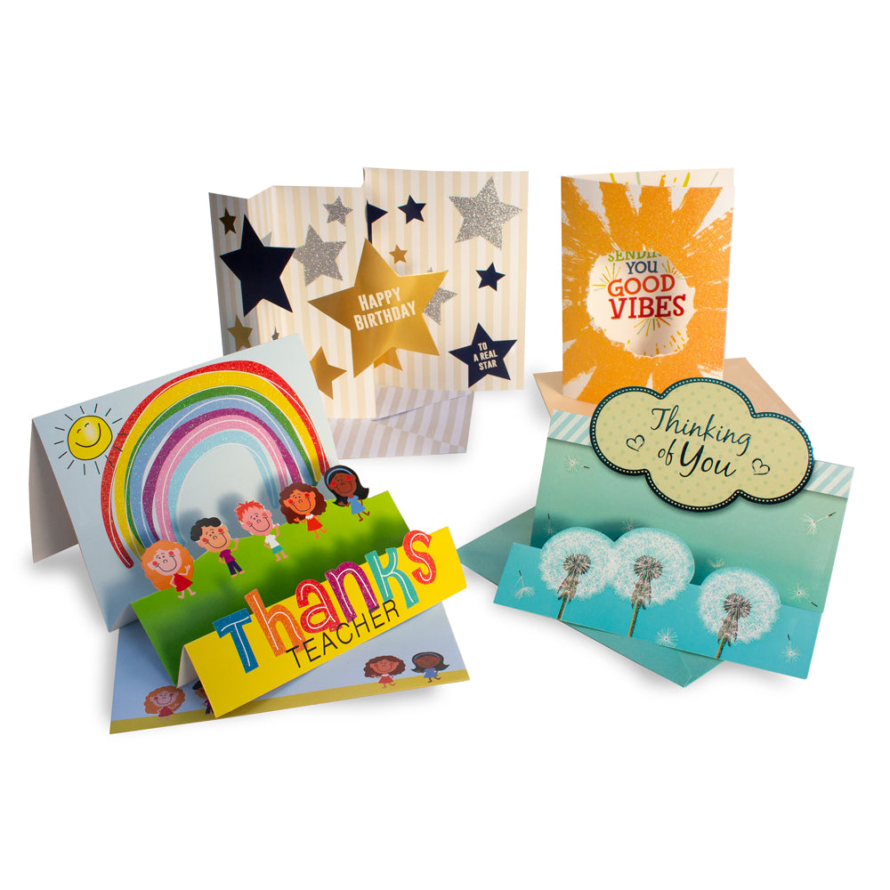 Cool Cards (Box of 35 Greeting Cards)