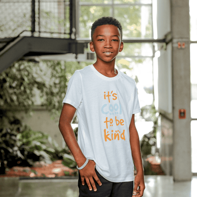 It's Cool to be Kind Youth Tee - SW Inspire | Inspire Kindness | The Dash Poem