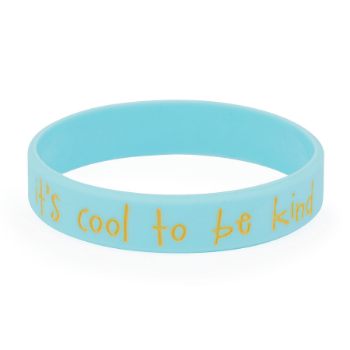 It's Cool to be Kind Youth Wristbands (Pkg/10) - SW Inspire | Inspire Kindness | The Dash Poem