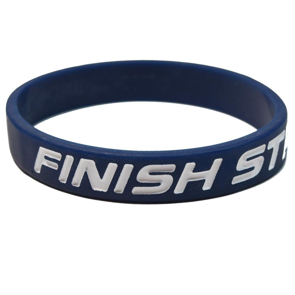Finish Strong Wristbands (Pkg/10) - SW Inspire | Inspire Kindness | The Dash Poem